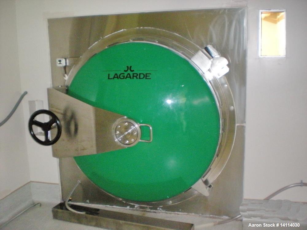 Used J.Lagarde Autoclave/Sterilizer