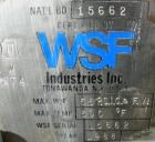 Used-  WSF Industries Horizontal Autoclave / Sterlizer, 316L Stainless Steel.  Approximately  72