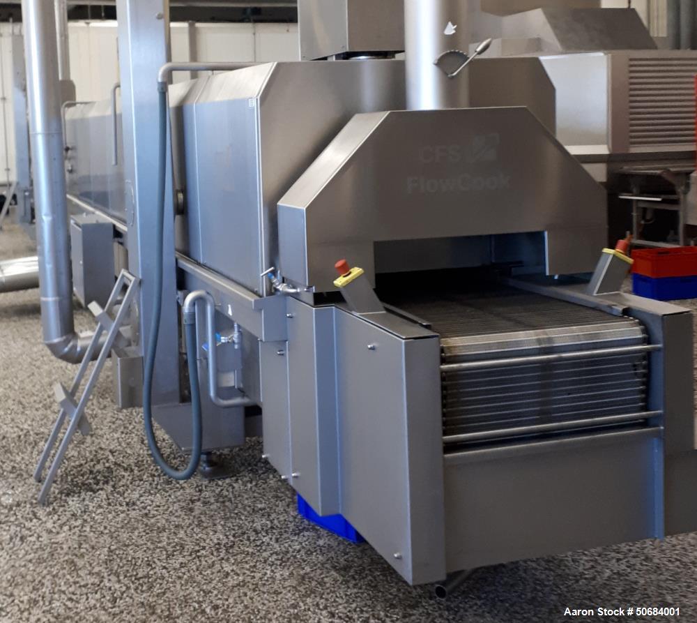Used- GEA-CFS Langofen FlowCook FLC 14000/600 Oven