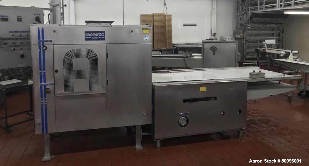 Used- Adamatic VDR Dinner Roll Machine