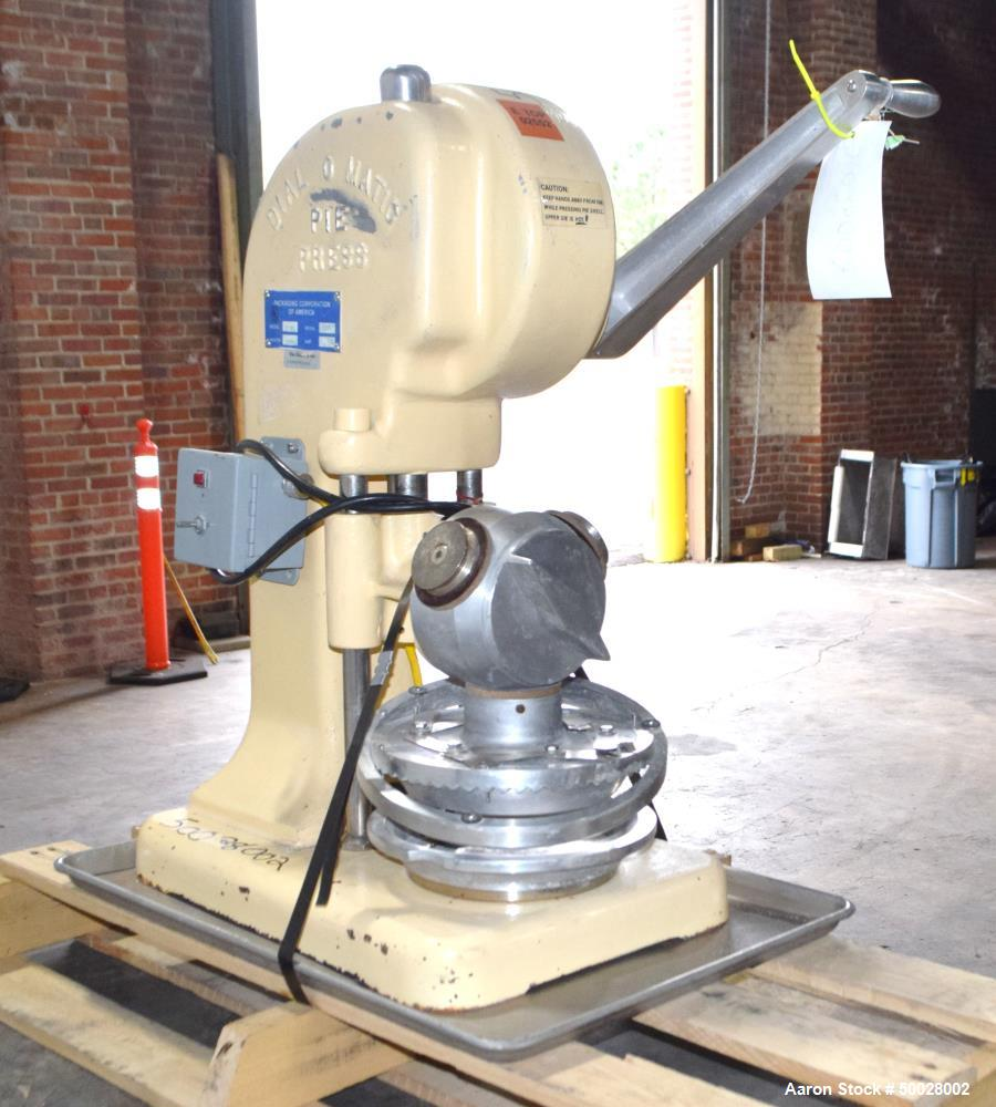 Used- Dial-O-Matic Pie Press, Model D 301.