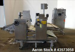 """Used- Gauging Roller, 48"""" Wide, Stainless Steel Construction."""