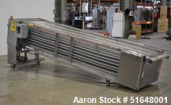 """Used- Superior Food Machinery Tortilla Cooling Conveyor. 5-Tier. Wire mesh conveyor 36"""" wide. Driven by a 1hp, 3/60/208-230/..."""