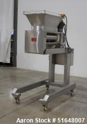 """Used- Dough 3 Roll Extruder / Pre-Sheeter. Approximate 24"""" wide rolls. (2) Smooth rolls, (1) grooved roll. Grooved roll driv..."""