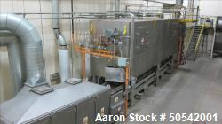 Used- Aeroglide Model FBU24-25-RGX-IDFB Toasting and Puffing Baking Oven