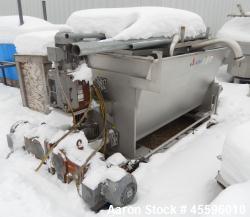 APV Dual Auger Ingredient Feed Pump. Has (2) 10 hp auger motors and (1) 25 hp main motor. Is of stai...