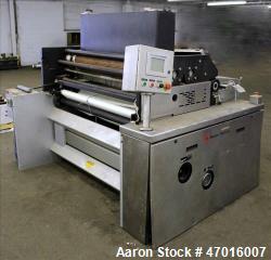 "Used- Baker Perkins SM World Wirecut Cookie Cutter Machine, 48"" Width."