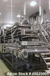 Used- Benier Baguette and Roll Line with VMI Verymixer.
