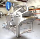 Used-Oil Spray Coating Machine. Includes wire mesh belt conveyor, spray applicators and oil recirculation unit. Mounted on c...