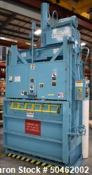 Used- Baler International Corp Industrial Baler, Model IVB606HD