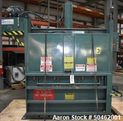 Used- Baler International Corp Industrial Baler, Model IVB606LP