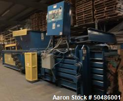 Used- International Press & Shear (IPS) Horizontal Baler
