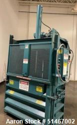 Used- Marathon Vertical Hydraulic Baler Compactor