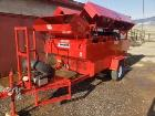 "Used- Kincade 36"" Belt Thrasher. Powered by 10 HP Gasoline Engine."