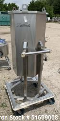 Conecraft Inc. 200 Liter (53 Gallon) Bag Holder, 304 Stainless Steel