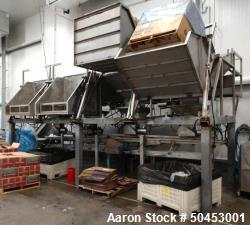 Used- Commercial Manufacturing Automatic Four Tote Dumping and Blending System