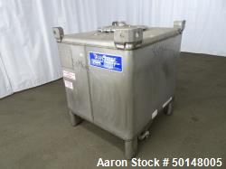 Used- Stainless Steel Tote Container, Model 516843
