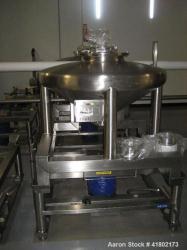 Used- Stainless Steel Zanchetta Tote Bin