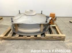 d- Peabody Solids Flow Vibratory Feeder / Live Bottom Bin Discharger, Model 6260C, Stainless Steel. ...