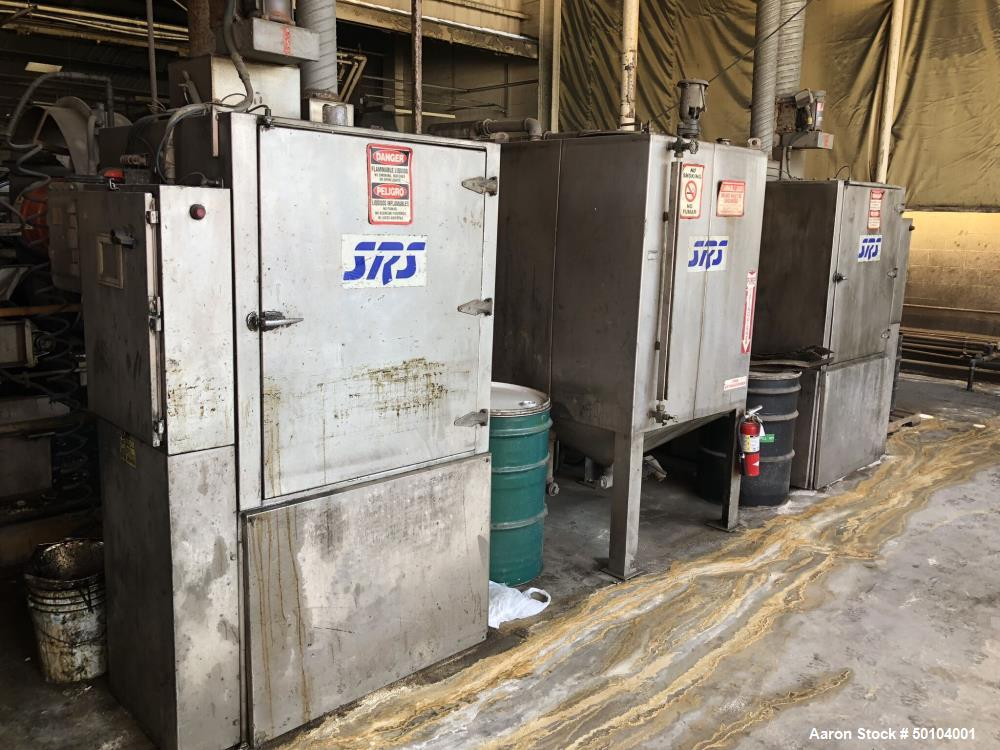 Used- SRS Engineering Corp. Automatic Drum Wash System