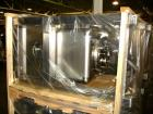 Used- 200 liter (7 cu ft) Metolift bin, stainless steel construction, approximately 22