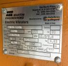 Unused- Peabody Solids Flow Vibratory Feeder / Live Bottom Bin Discharger, Model 6260C, Stainless Steel. 60