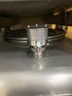 Unsed-Transtore Metalcraft 300 gallon 316L Stainless steel storage bin. Mfg 2018