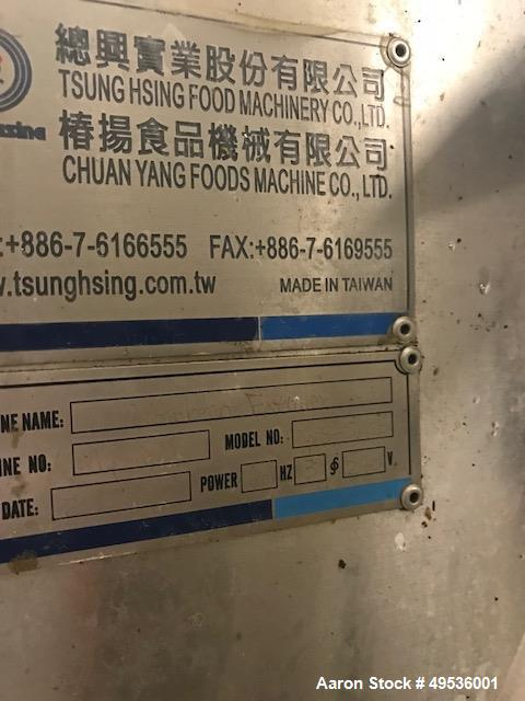 Used- Meyn Continuous Fryer. Model 24-25.