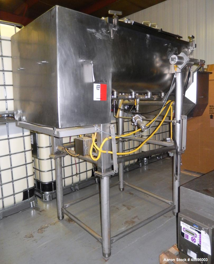 Used-APV Cheese Cooker with Dual Auger Transfer H