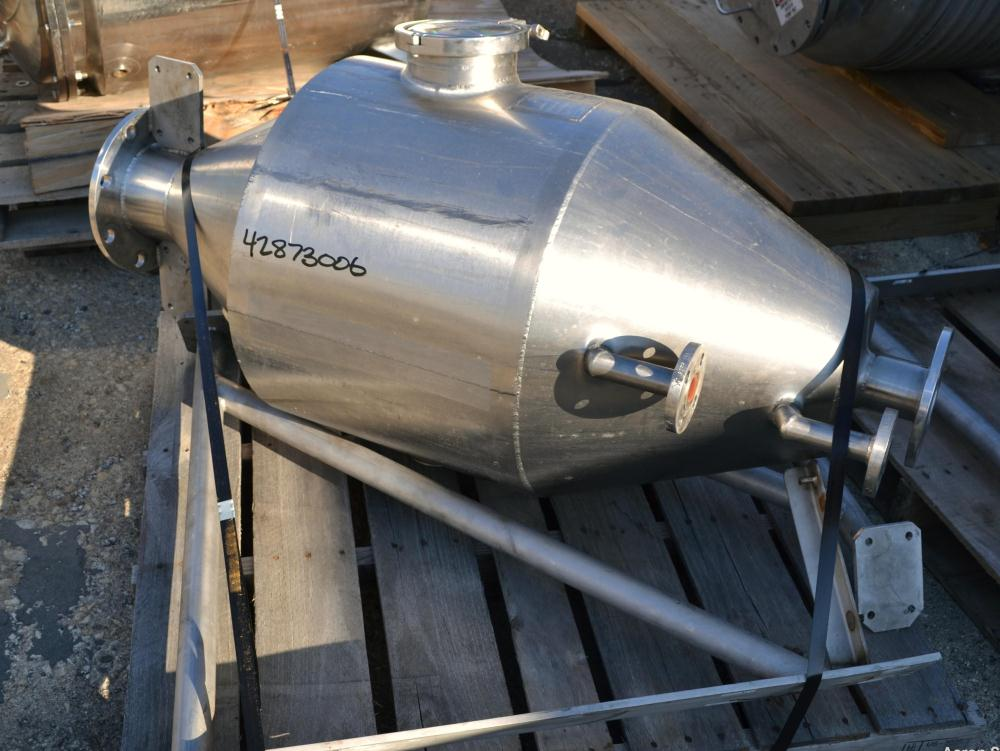 Used- Highland Equipment Limited Flash Cooker Chamber, 96.4 Liter (25.4 Gallon)