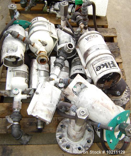 Used-Fike Explosion Protection Unit, assortment of three assembly sizes. Number One assembly is size E70-035-6, gross weight...