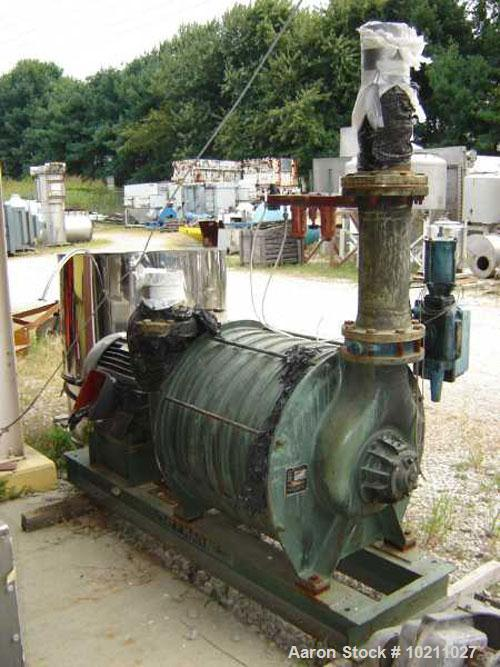 Used-60 HP Hoffman Centrifugal Blower, Model 38308C2. Order #GS-29474. Manufactured by Hoffman Air & Filtration Systems, Div...