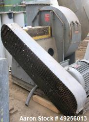 Used- Cincinnati Fan Blower, Model RBE-19, Carbon Steel.