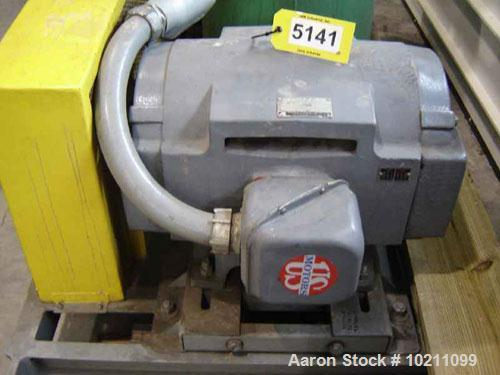 Used-125 HP Roots Dresser Blower, Model RAM-624. Driven by a 125 hp, 405T-DP frame, 1780 rpm, 3 phase, 60 hz, 1.15 S.F., 460...