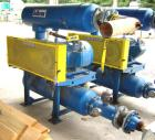 Used-50 HP Hibon PD Blower Package, SNH809. Nameplate data indicates 13 psig.  50 hp Westinghouse motor, 1770 rpm, 230/460 v...
