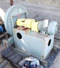 Unused- New York High Pressure Blower, Carbon Steel. Wheel size & type 2103 Steel, rated 100 CFM at 20.8