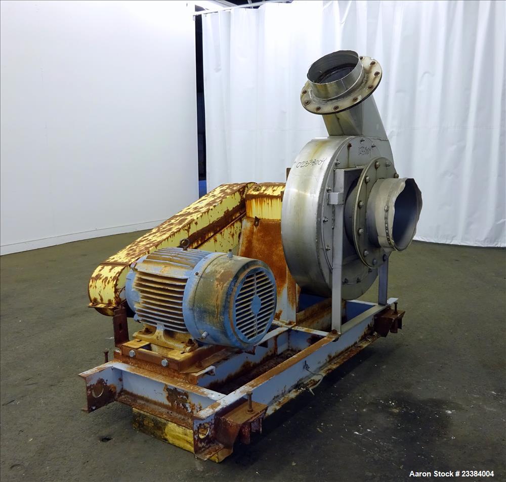 Used- Twin City Turbo Pressure Blower, Model TBA-P3, Size 1306.