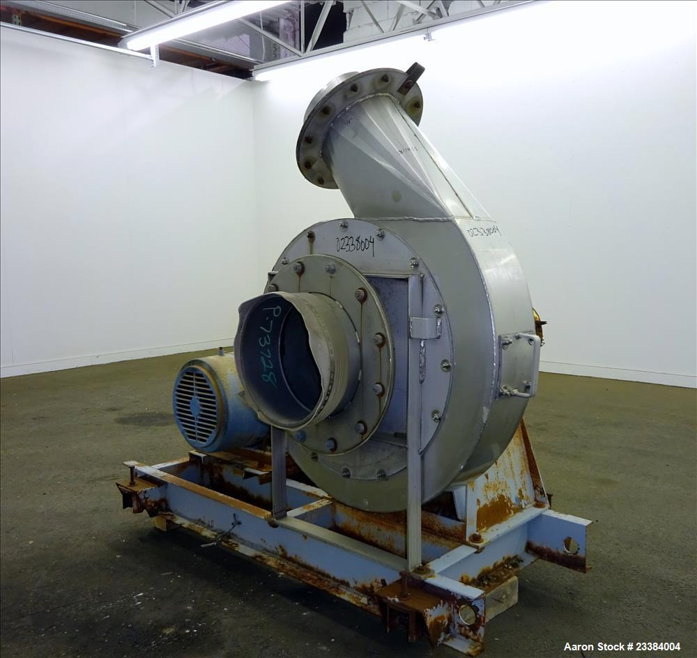 Blower Supercharger For Sale: Used- Twin City Turbo Pressure Blower, Model TBA