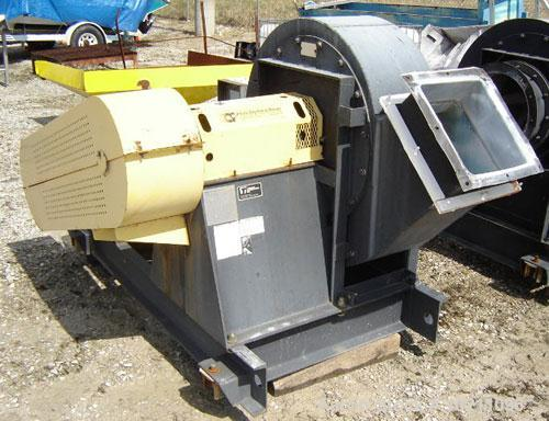 "Used-2000-4500 SCFM 40"" S.P. WC Twin City Fan, Size 915, Type RBO-SW, Arrangement 1, Class 45, CWBAU Rotation. Capacity 2000..."