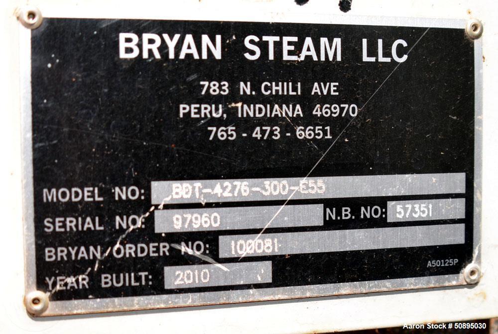 Used- Bryan Steam Boiler Blow Down Tank, 300 Gallon, Model BDT-4276-300-E55