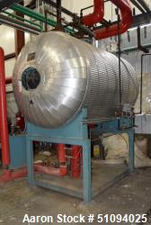 Used- Bryan Steam DSH Spray Type Boiler Feed-water De-aerator, Model DSH-150-21-9-3. Serial# 76879, National Board# 36347, B...