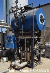 Used- Hurst Deaerator System. Consisting of: (1) tank rated 50 psi at -20 to 300 degrees F., serial# 1150182DA, National Boa...