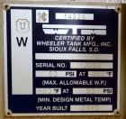 Used- Power Plant Equipment PPE Spray-Scrubber Deaerator