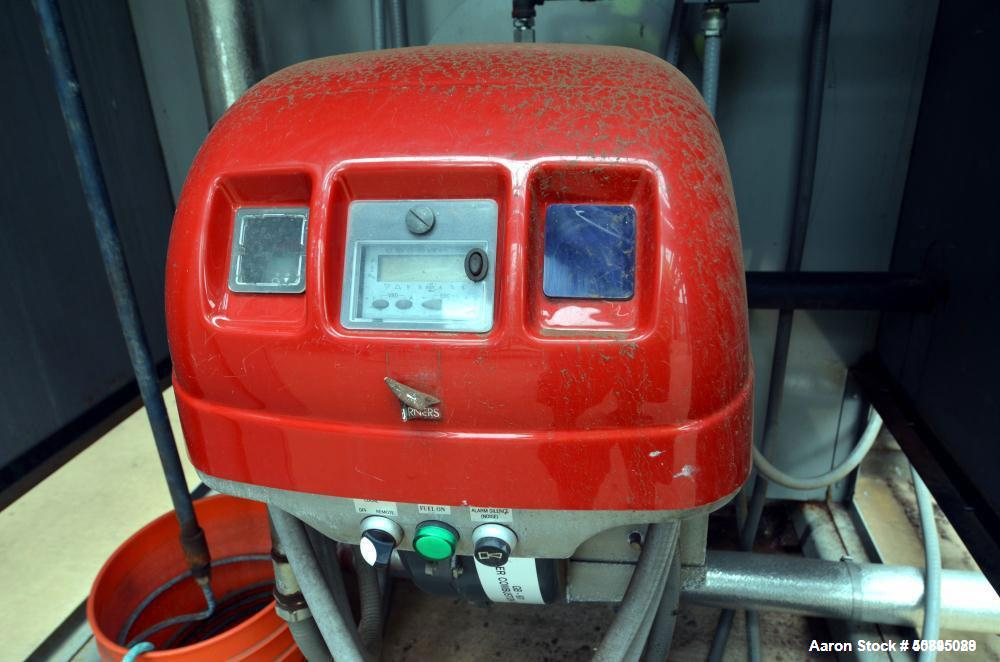 Used- Bryan Forced Draft Propane Gas Heated Steam Boiler, Model RV450-S-150/15-F