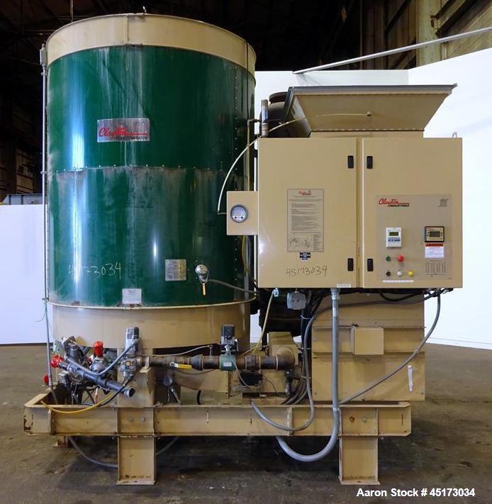 Used- Clayton Industries Steam Generator, Model E