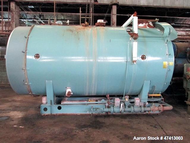 Used- Cleaver Brooks 500HP Packaged Steam Boiler, on