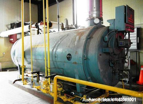 Used- Cleaver Brooks Packaged Hot Water Boiler, M
