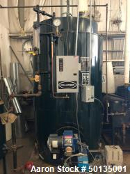 Used Columbia Boiler; Model CT-50