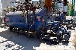 Used- Hurst Boiler, 417 Square Feet Heating Surface. 4313 Steam Pounds per hour, maximum working pressure 300 psi. Serial# S...