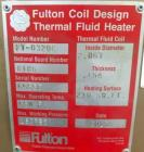 Used- Fulton Complete Turnkey Engineered Boiler System
